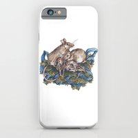 Mice and skulls iPhone 6 Slim Case