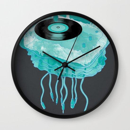 Deep Sea Audiophile Wall Clock