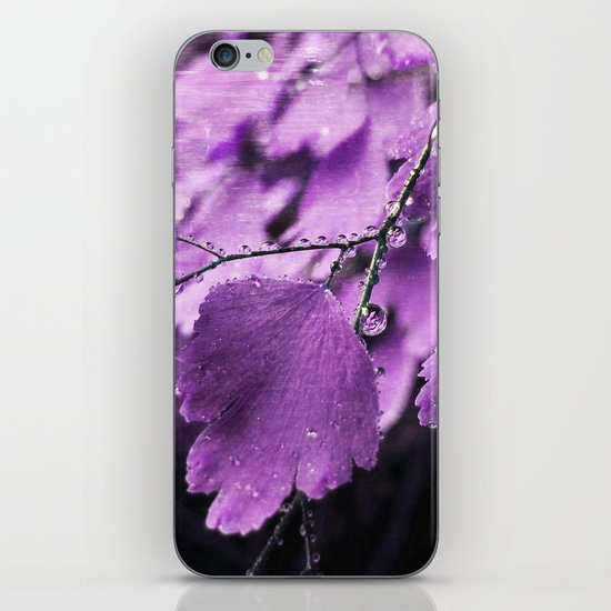 Lavender Fern iPhone & iPod Skin