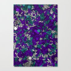 Chaotic Pattern Canvas Print
