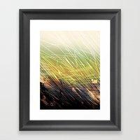 BREAKING GROUNDS Framed Art Print