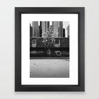 Urban Garden Framed Art Print