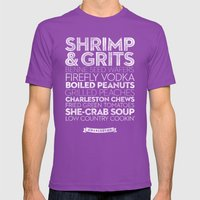 Charleston — Delicious… Mens Fitted Tee Ultraviolet SMALL
