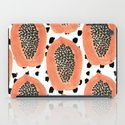 Bold Papayas iPad Case