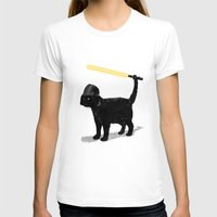 star T-shirts featuring Cat Vader by nicebleed