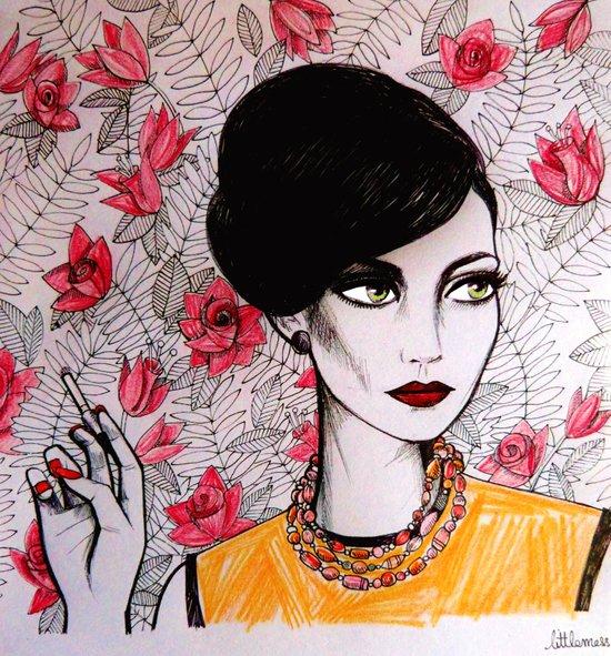 Rachel Menken from Mad Men Art Print