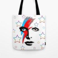 Bowie's Eyes Tote Bag