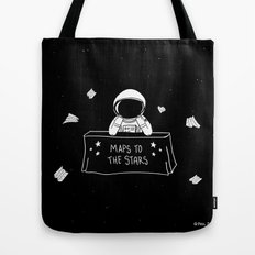 Selling Maps to the Stars Tote Bag
