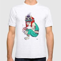 Voodoo Magic Mens Fitted Tee Ash Grey SMALL