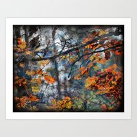 The Leaves That Reflect … Art Print