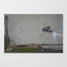 come fly with me part 1 Canvas Print