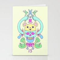 Triskaidekaphilia Stationery Cards