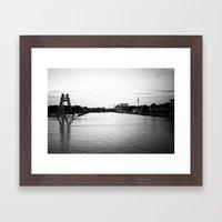 East Side Framed Art Print