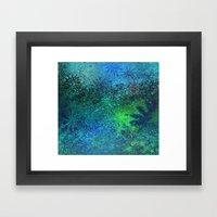 underwater fantasy Framed Art Print