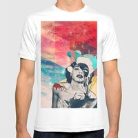 Don't Let The Bastards L… Mens Fitted Tee White SMALL