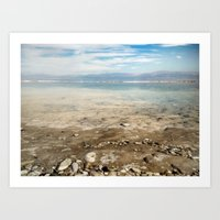 Dead Sea #3 Art Print