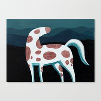 Appaloosa, Mountain Hors… Canvas Print
