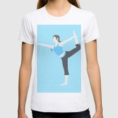 Wii Fit Trainer♀(Smash… Womens Fitted Tee Ash Grey SMALL