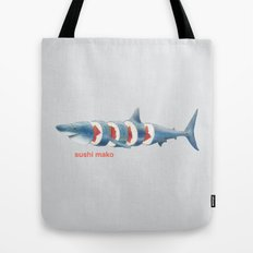 Sushi Mako (color option) Tote Bag