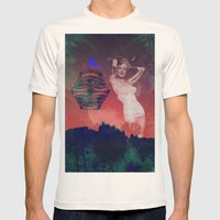False Colored Eyes Mens Fitted Tee Natural SMALL