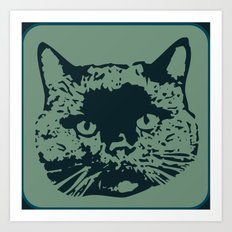 cathead 2b Art Print