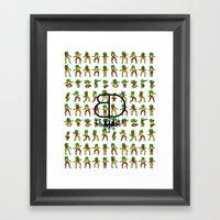 Jah Luv BD - BD X RC Gra… Framed Art Print