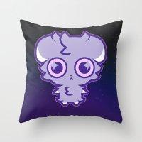 ESPURRRR Throw Pillow