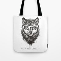 Who's your granny? (b&w) Tote Bag