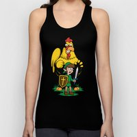 The Legend of Ernie (dark background) Unisex Tank Top