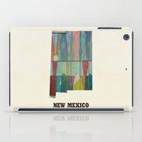 New Mexico Map Modern iPad Case