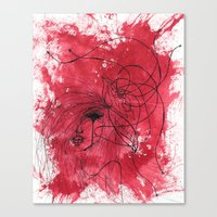 The Mean Reds Canvas Print