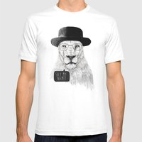 Say My Name Mens Fitted Tee White SMALL