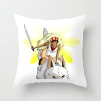 Andrea Bonifacio: San (P… Throw Pillow