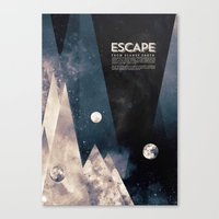 Escape, From Planet Eart… Canvas Print