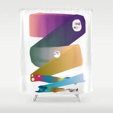 Enough Be Grateful  Shower Curtain
