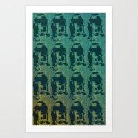 Star Wars Pop Art: Cool R2D2 Art Print
