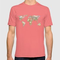 NEW ORDER Mens Fitted Tee Pomegranate SMALL
