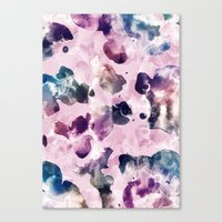 Ink Blooms Canvas Print