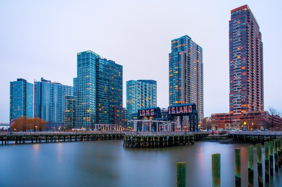 Long Island City Art Print
