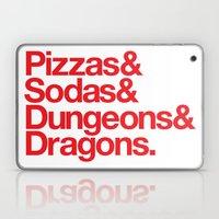 Dungeons & Dragons & Swa… Laptop & iPad Skin