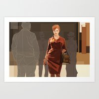 Art Print featuring JOAN///////////////////// by Jordan McLaughlin