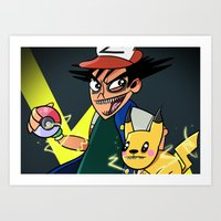 Pokemon Art Print