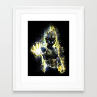 The Prince Of All Fighte… Framed Art Print