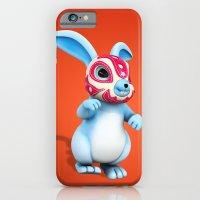 Lucha Rabbit-Blue Brothe… iPhone 6 Slim Case