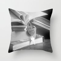 Love Story Throw Pillow
