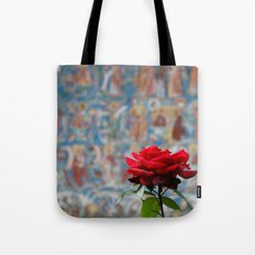 Moldova Rose Tote Bag