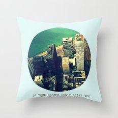 DREAM BIG! Throw Pillow