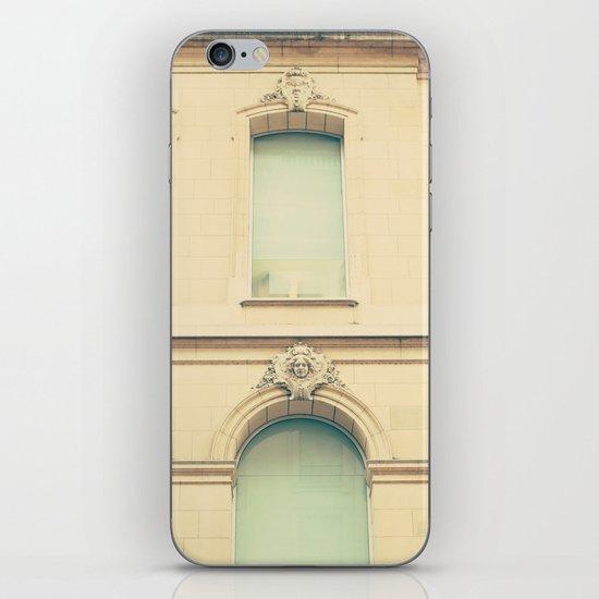 Mint windows, beige walls  iPhone & iPod Skin