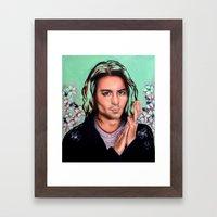 Mr. Depp Framed Art Print