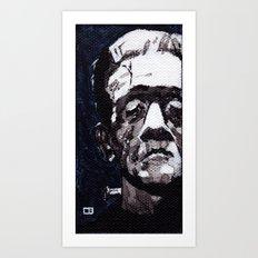 Frankenstein's Monnster Art Print